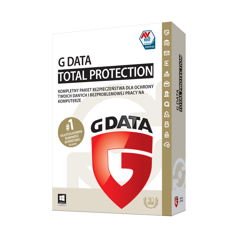 G Data Total Protection 2016