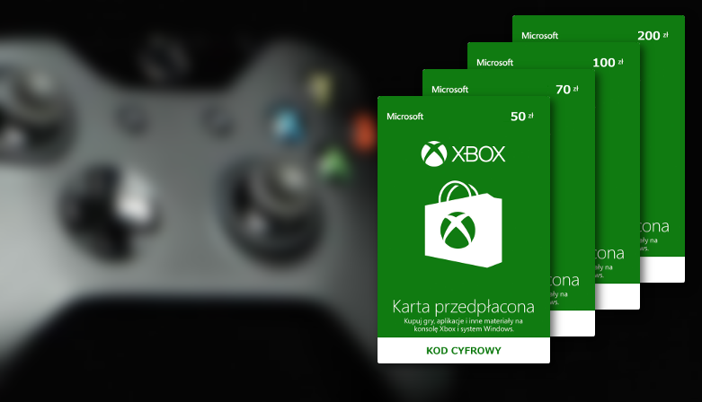 Karta podarunkowa Microsoft Xbox